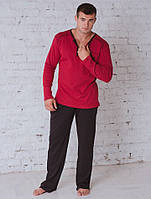 Комплект мужской бордо 702, фото 1