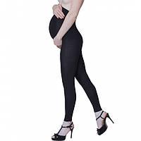 Лосины для беременных 400 den теплые хлопковые черные, фото 1