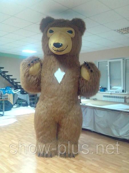 Бурый Медведь длинный ворс - новинка нашей компании