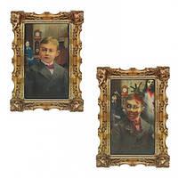 Картина голограммная Семья мертвецов 1501-3608