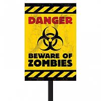 Знак Берегись Зомби 1507-3082