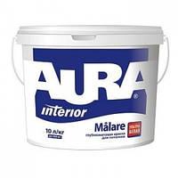 Глубокоматовая Aura Målare 1л – краска для потолков. (не моется)