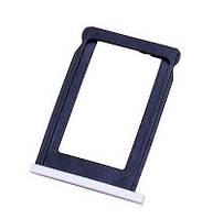 Держатель сим (SIM card holder tray) для iPhone 3G/3GS white