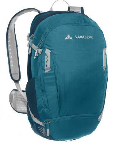 Удобный велосипедный рюкзак 25 л. Vaude Bike Alpin 4052285203702 Бирюзовый
