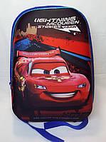 Детский рюкзак каркасный Cars Тачки стильный