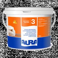 Глубокоматовая краска Aura Luxpro 3 1л – для стен и потолка