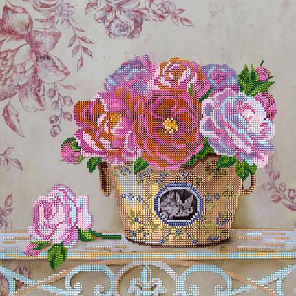 """Схема для вышивания бисером """"Парижские цветы"""", фото 2"""