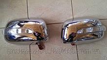 Накладки на зеркала Toyota Hilux с повторителями поворотов