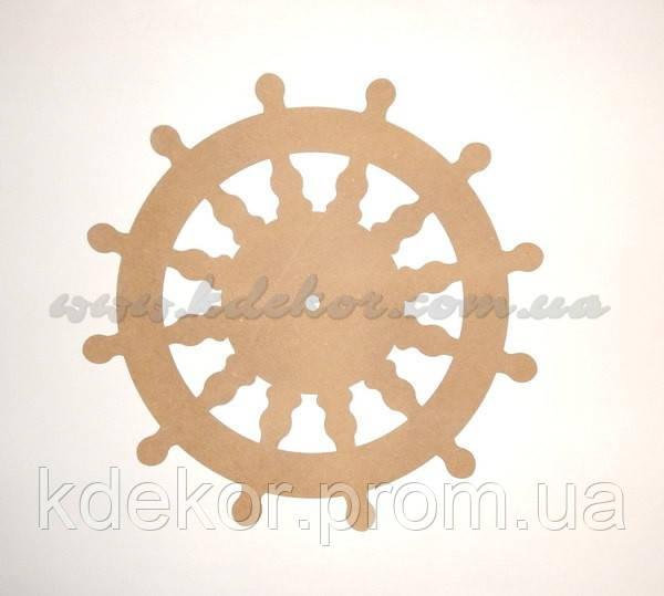 ШТУРВАЛ диаметр 45см заготовка для декупажа и декора