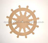 ШТУРВАЛ диаметр 45см (материал МДФ) заготовка для декора