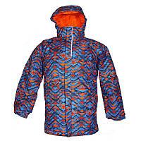Куртка для мальчиков Columbia TWIST TIP™ JACKET сине-оранжевая SB5031 439