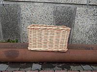 Плетеные лоток из лозы 30*20*20