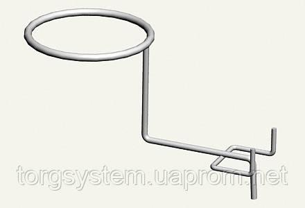 Крючок для шапок плоский L-315 (краска)