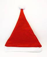 Шапка Деда Мороза/Санта Клауса-12 шт.