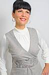 Сарафан женский из тёплого твида 44,46, фото 3