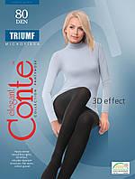 Колготки жіночі Conte Triumf 80 Den (Конте Тріумф 80 ден), розмір 2-4, Білорусія , фото 1