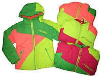 Куртка лыжная для девочки 2в1 (со сьемной флисовой кофтой), Glo-story, размеры 92/98,арт