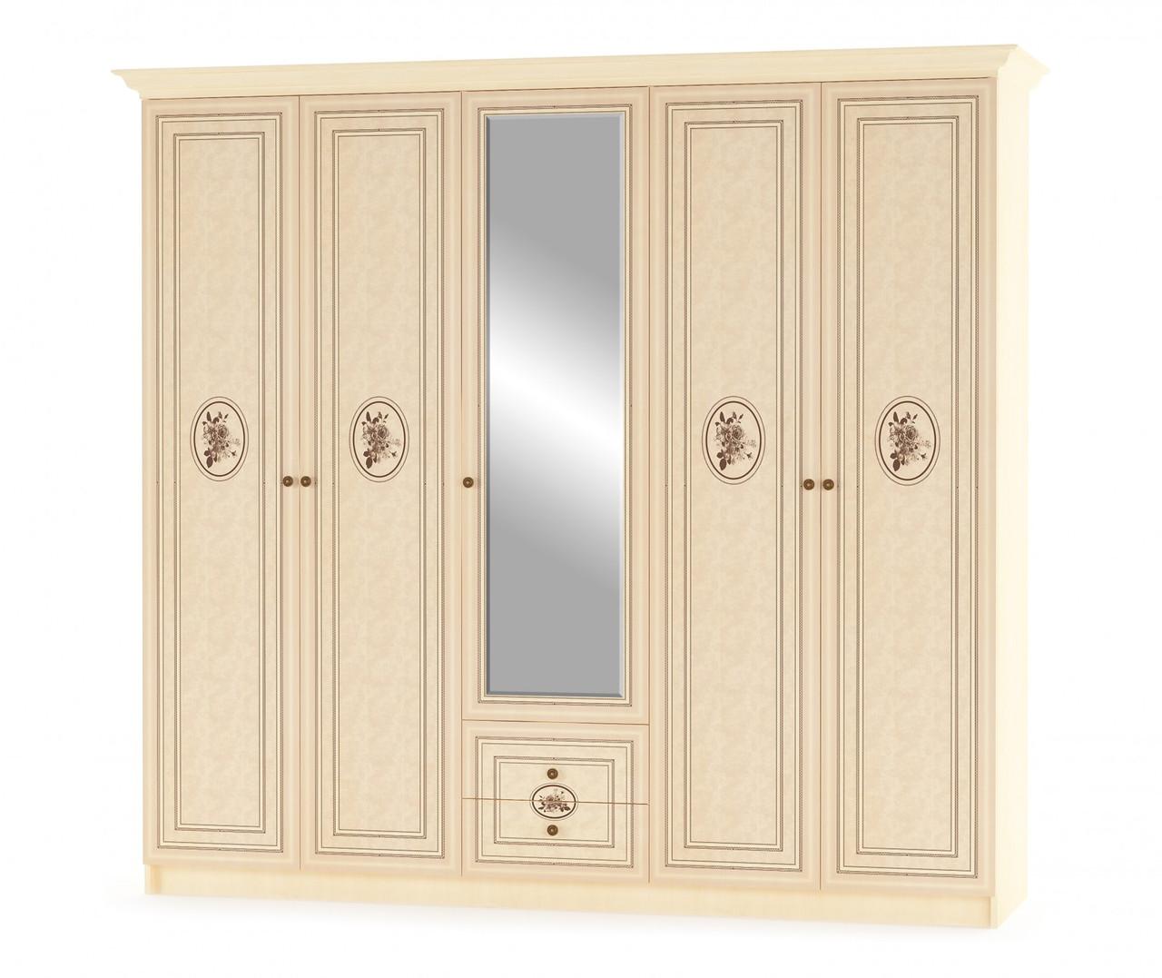 Шкаф 5Д Флорис Мебель-сервис