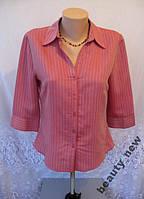 Новая рубашка FLORENCE+FRED полиэстер вискоза М