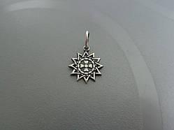 Серебряная подвеска Звезда Эрцгаммы
