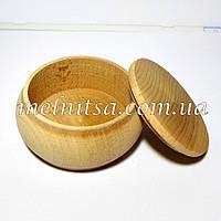 Заготовка шкатулочка-бочонок, 6,5х3,4см