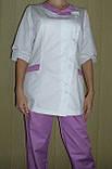 Медицинский костюм 3217 (коттон), фото 3