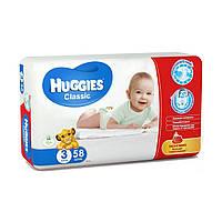 Huggies Classic 3 ( 4-9 ) 58 шт!