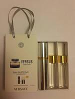 Мини парфюм с феромонами Versace Versus в подарочной упаковке 3 x 15 ml
