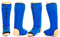 Защита для ног (голень+стопа) Неопрен чулок с фиксатором (на липучке) ZELART ZB-4219, фото 2