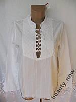 Новая блузка с вышивкой 10 FEET хлопок S 44-46 B252N