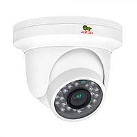Купольная IP-видеокамера с фиксированным фокусом Partizan IPD-1SP-IR POE  1.0