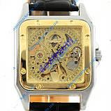 Часы WINNER Skeleton Square Gold II Арт.:849, фото 2