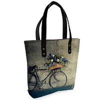 Женская сумка Bigbag с принтом Велосипед