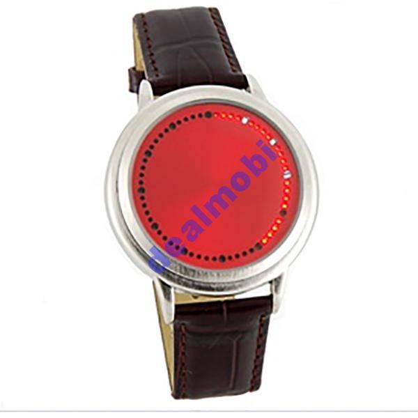 ABYSS Red сенсорные светодиодные часы  Арт. 544