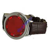 ABYSS Red сенсорные светодиодные часы  Арт. 544, фото 2