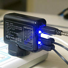 Сетевое зарядное устройство TC09iG 4xUSB 2.1Ач