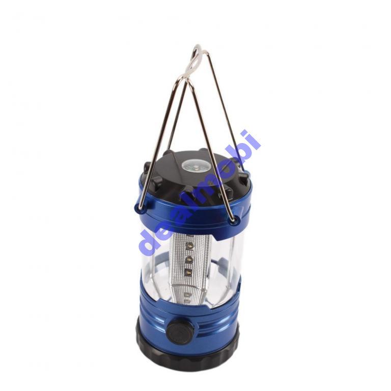 Туристическая лампа с компасом NO 9789 12 LED