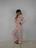 Детская теплая пижама- домашний костюм