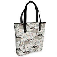 Женская сумка Bigbag с принтом Юрты