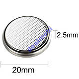 Батарейка LITHIUM BATTERY CR2025 - 3V (1шт.), фото 3