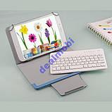 Чехол для планшета с блютуз клавиатурой для 7- 8', фото 3