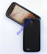 TPU ЧЕХОЛ ДЛЯ LENOVO S820 чёрный