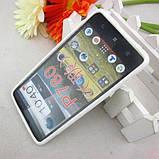 ЧЕХОЛ-БАМПЕР Lenovo P780! Белый + пленка в подарок, фото 2