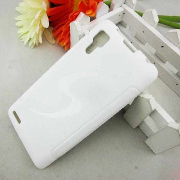 ЧОХОЛ-БАМПЕР Lenovo P780! Білий + плівка в подарунок