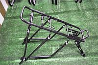 Багажник для велосипеда стальной черный