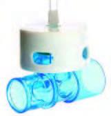 Клапан выдоха (грибовидный не используется при неинвазивной вентиляции)