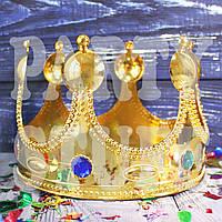 Корона короля золотая