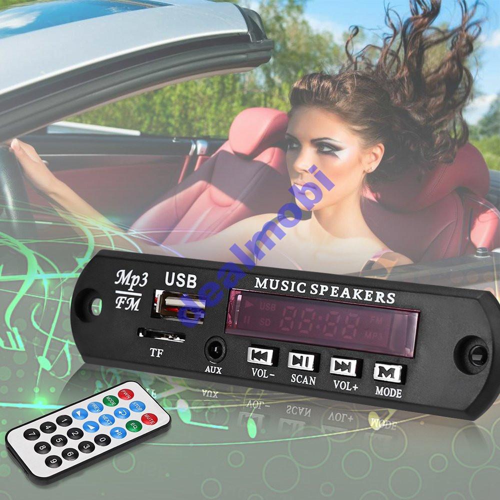 MP3-плеер модуль с пультом ДУ и USB/SD/FM 12В