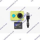 Экстрим камера Xiaomi Yi Sport Green Basic Edition, фото 5