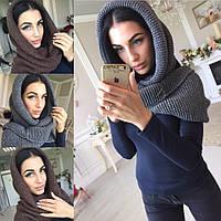 Женский шарф хомут (много расцветок) q-40074